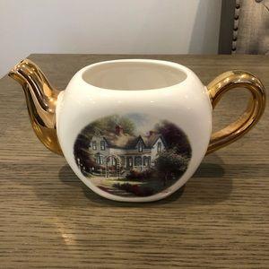 Thomas Kinkade Home Is Where The Heart Is Teapot